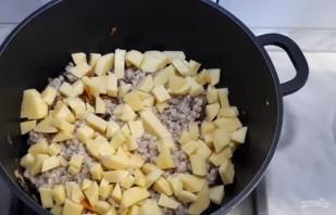 Вкусный суп грибной с перловкой - фото шаг 3