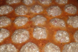 Тефтели с плавленым сыром - фото шаг 4