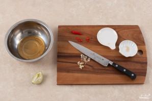 Мясо с базиликом - фото шаг 3