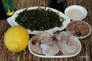 Салат из морепродуктов с морской капустой - фото шаг 1