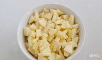 Пироги с яблоками из дрожжевого теста - фото шаг 5
