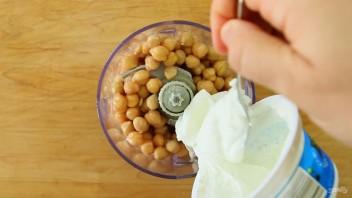 Хумус с йогуртом - фото шаг 2