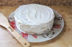 Сметанный торт с медовыми коржами - фото шаг 15
