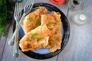 Пирожки с плавленным сыром - фото шаг 11