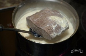 Стейк в молоке - фото шаг 4
