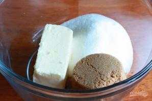 Печенье с фисташками, шоколадом и клюквой - фото шаг 1