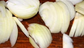 Вегетарианский салат с грибами - фото шаг 5