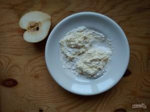 Сырники с грушами - фото шаг 5