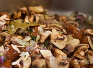 Паштет из грибов и куриной печени - фото шаг 2