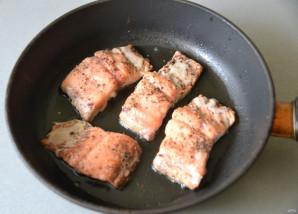 Филе лосося в бальзамической глазури - фото шаг 5