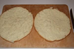 Бисквитный торт с заварным кремом - фото шаг 8