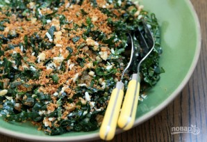 Салат с сухариками и сыром - фото шаг 5