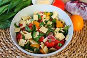 Салат из помидоров со шпинатом - фото шаг 6