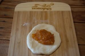 Пироги в духовке из дрожжевого теста - фото шаг 2