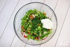 Весенний салат - фото шаг 2