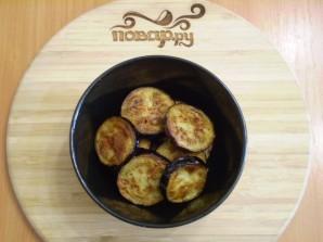 Жареные баклажаны с помидорами и чесноком - фото шаг 4