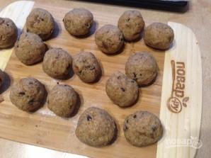 Печенье из цельнозерновой муки с инжиром и шоколадом - фото шаг 8