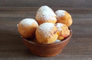 Пончики с малиной - фото шаг 11