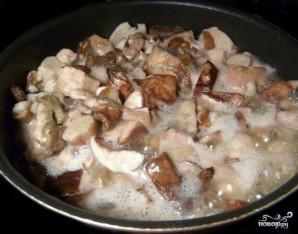 Икра из белых грибов - фото шаг 3