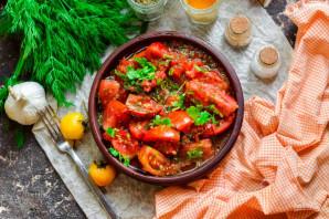 Быстрые помидоры по-корейски - фото шаг 7