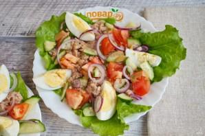 ПП салат с тунцом - фото шаг 2