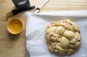 Яблочный пирог с медом - фото шаг 2