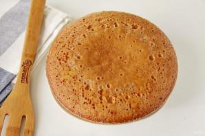 Пирог без яиц в мультиварке - фото шаг 6