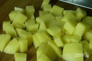 Сырный суп с шампиньонами и брокколи - фото шаг 1