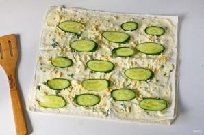 Лаваш со сливочным сыром - фото шаг 8