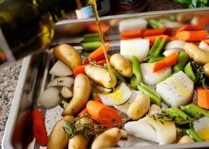 Курица с овощами под соусом - фото шаг 2