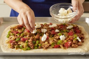 Пицца со свининой - фото шаг 4