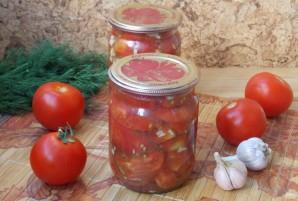 Консервированные помидоры, как свежие - фото шаг 13