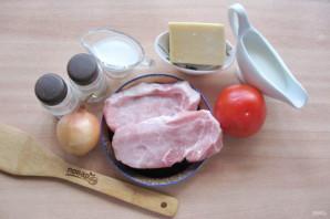 Мясо по-французски со сливками в духовке - фото шаг 1