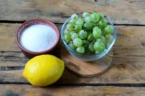 Варенье из крыжовника с лимоном на зиму - фото шаг 1