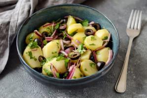 Марокканский картофельный салат - фото шаг 7