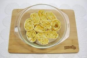 Пирог из лаваша с капустой - фото шаг 9
