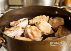 Тушеные куриные бедра - фото шаг 2
