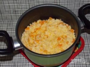 Пшенно-рисовая каша на молоке - фото шаг 7