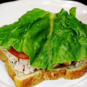 Сэндвичи с салатом из тунца - фото шаг 11