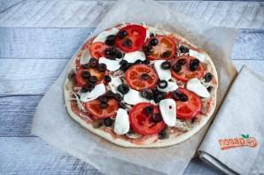 Лучший рецепт домашней пиццы - фото шаг 7