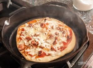 """Очень быстрая пицца """"Молния"""" - фото шаг 9"""