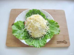 Мясной салат с маринованным луком - фото шаг 12