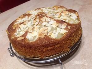 Итальянский миндальный пирог с грушами - фото шаг 9