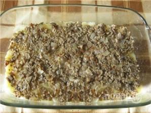 Картофельная запеканка с грибами и помидорами - фото шаг 5