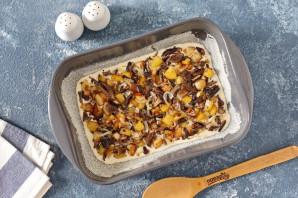 Пирог с маринованными грибами и картофелем - фото шаг 6