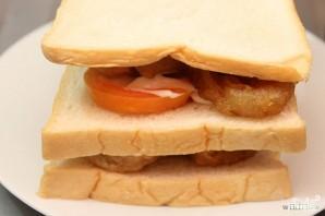 Бутерброды с кальмарами - фото шаг 5