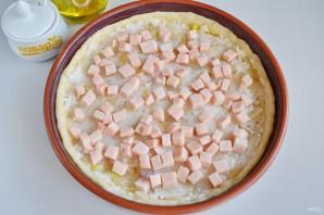 Пирог с ветчиной и стручковой фасолью - фото шаг 9