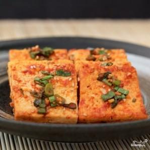 Припущенный тофу - фото шаг 8