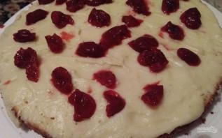 Бисквитный торт с вишнями - фото шаг 10