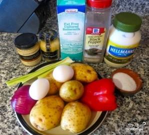 Картофельный салат классический - фото шаг 1